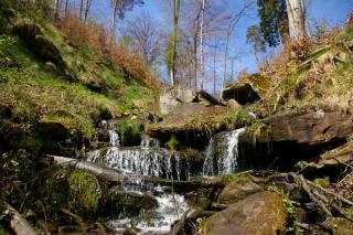 Heslacher Wasserfall