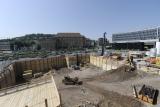 Baugrube Technikgebäude