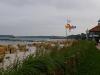 Strand mit DLRG-Hauptwache