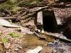 Christoph Stollen beim Heslacher Wasserfall