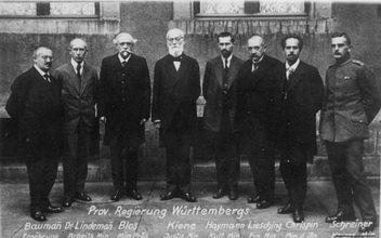 provisorische Regierung Württembergs