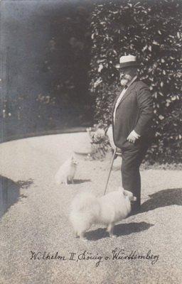 Wilhelm II mit seinen beiden Spitzen