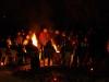 Schloßgarten mit Lagerfeuer