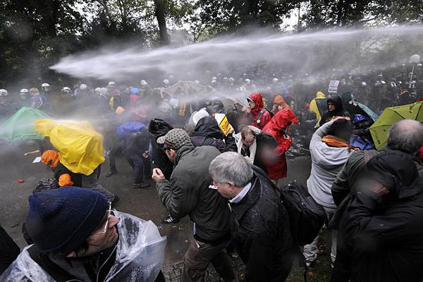 Germany Stuttgart Protests