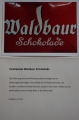 Emailplakat Waldbauer Schokolade - Patenschaft