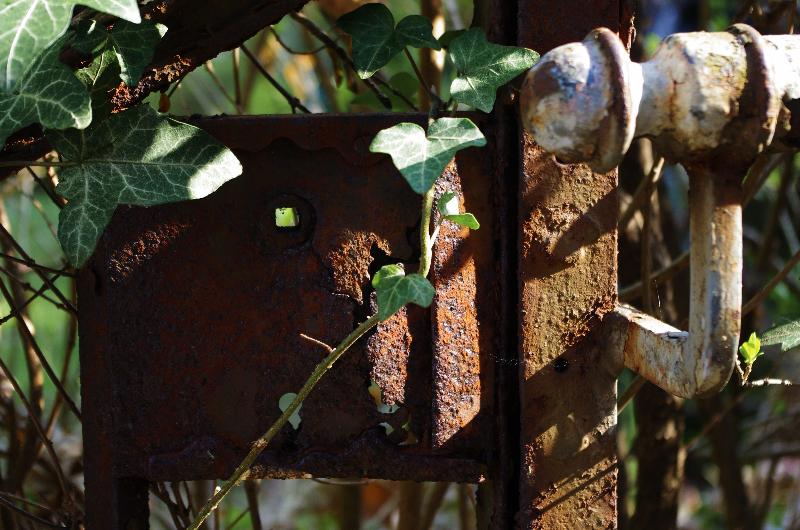 Stäffele Geländer - Zugang zum Garten