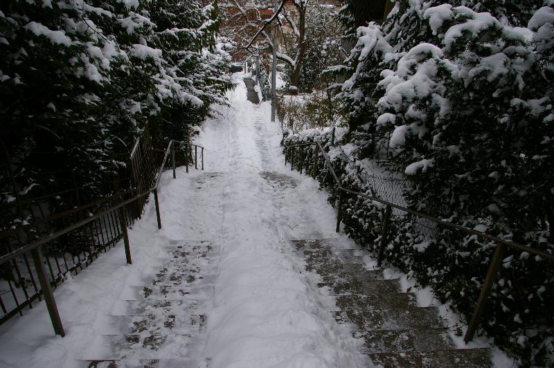 Eugensstaffel im Winter