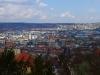 Stäffele Panorama über Stuttgart