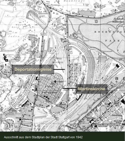 Deportationsgleise Innerer Nordbahnhof Stuttgart