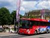 Stuttgart Tour Bus vor dem neuen Schloß Stuttgart
