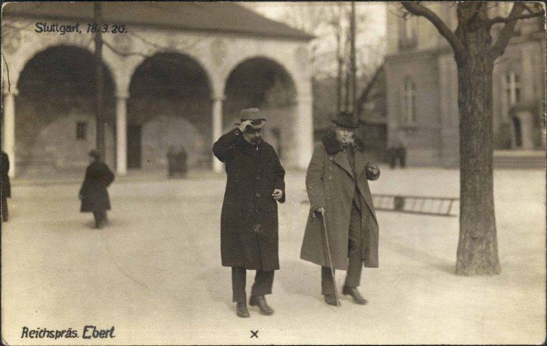 Friedrich Ebert am 18.03.1920