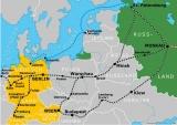 Strecke Basel Moskau