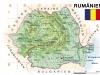 Landkarte Rumänien